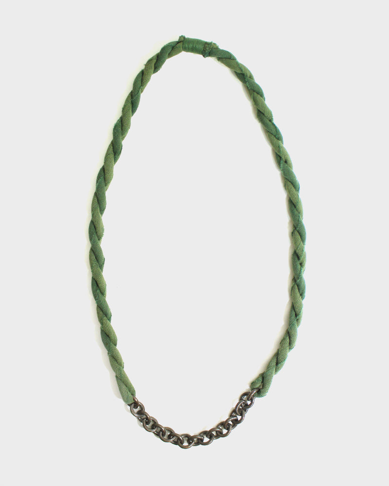 Boet X Kiriko Boro Necklace, Green