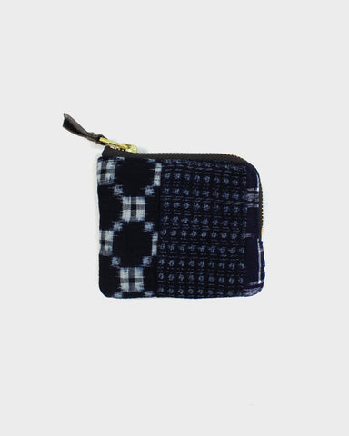 Zipper Wallet, Boro Patchwork 28