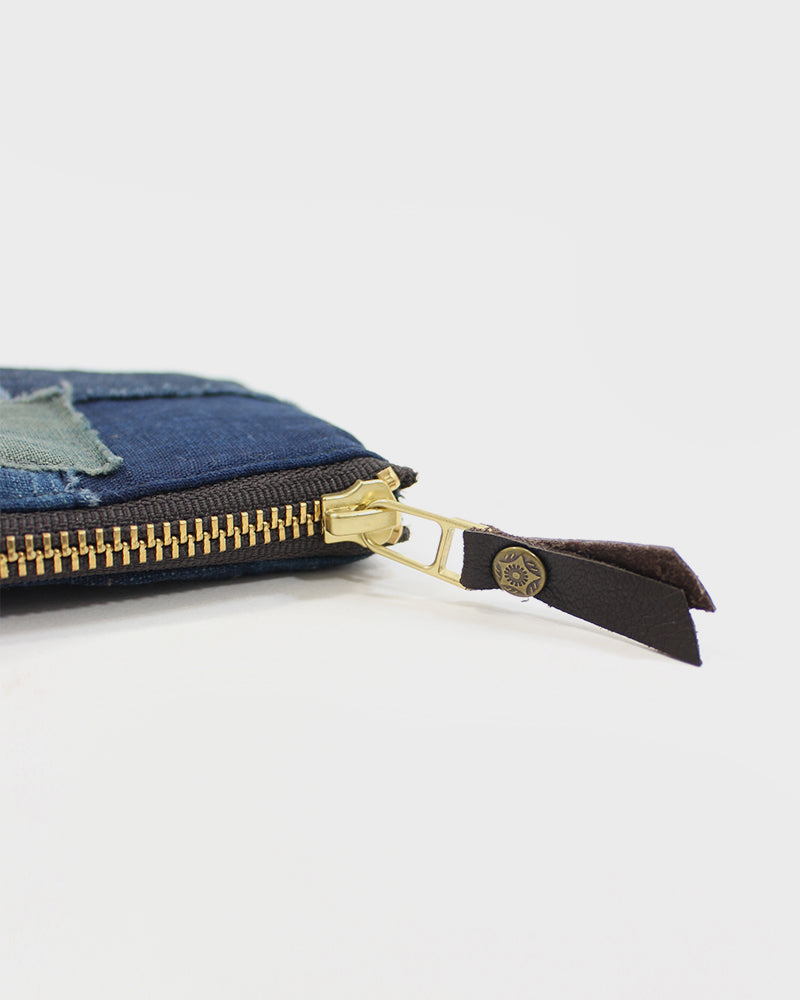 Zipper Wallet, Boro Patchwork 35
