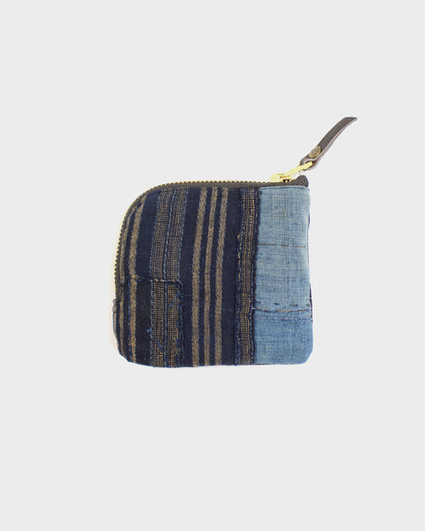 Zipper Wallet, Boro Patchwork 34