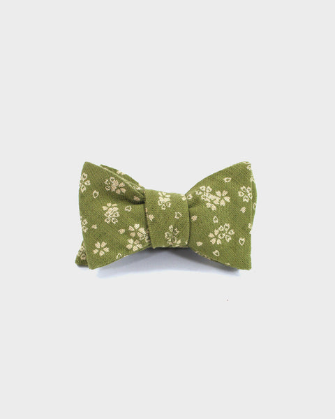 Bow Tie Yellow Green Sakura
