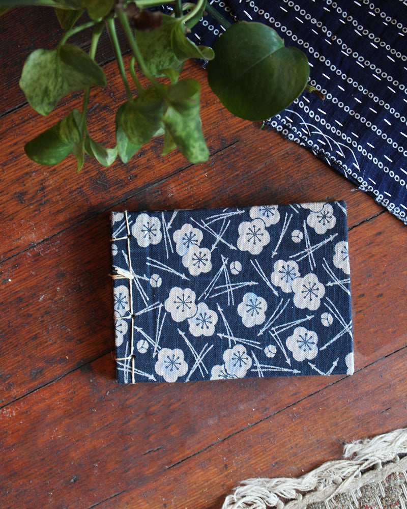 KM X SBH Small Notebook, Plum and Pine