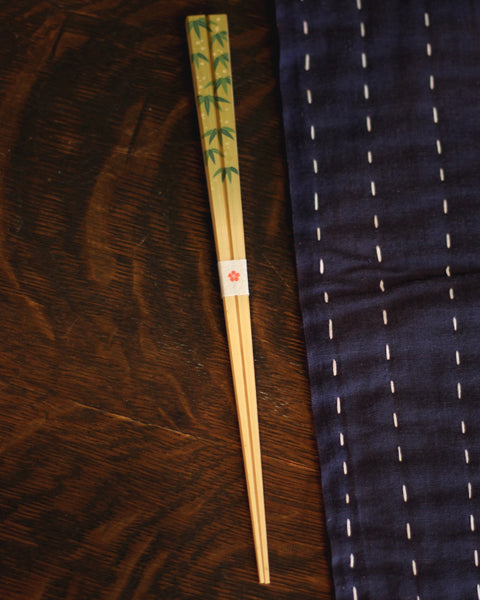 Chopsticks, Bamboo Leaves