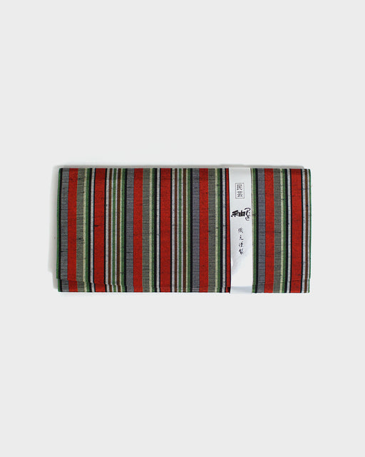 Tsumugi Multi Color Shima, Wallet Clutch