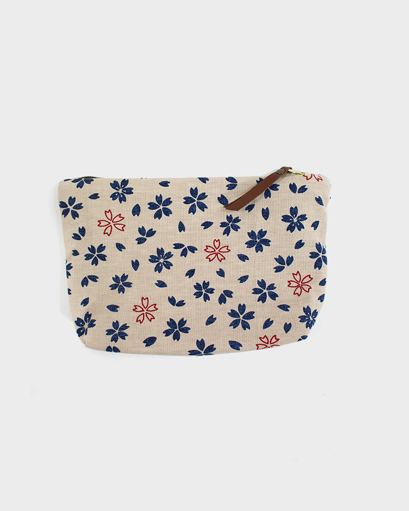 Stand-Up Pouch, White Sakura