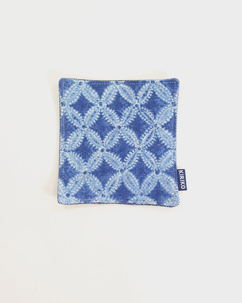 Coaster Set of 5, Indigo Shippou