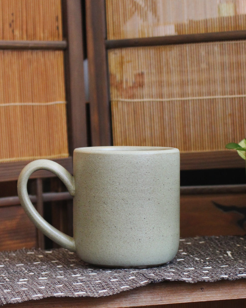 Dina Light Sage Large Stoneware Mug