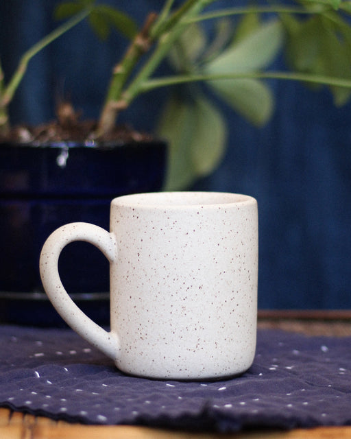 Dina Speckled Large Stoneware Mug