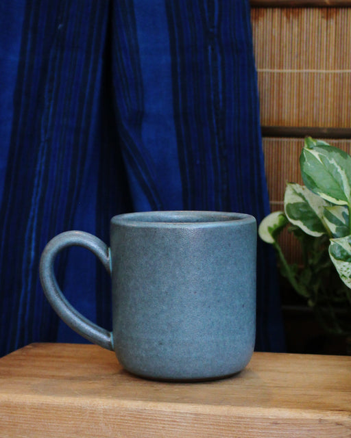 Dina Light Blue Large Stoneware Mug