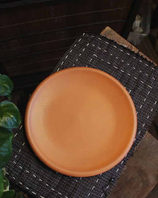 "Dina Coral Stoneware 8"" Plate"