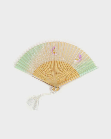 Vintage Fan, Butterflies