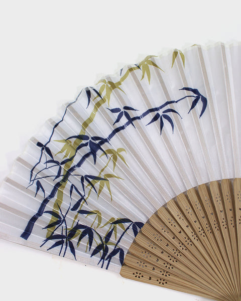 Vintage Fan, Simple Bamboo