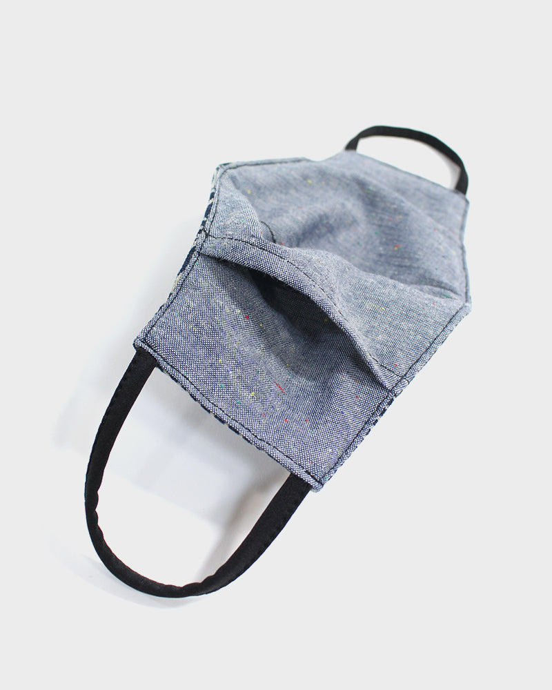 Face Mask, Indigo Uroko (Filter Pocket)
