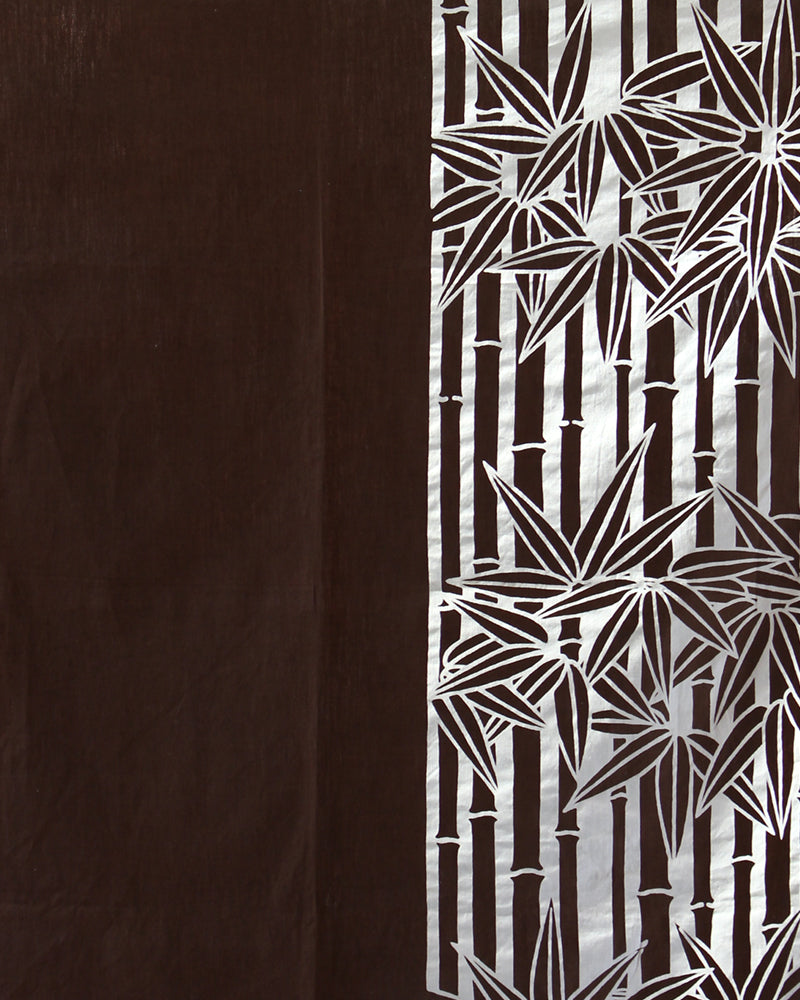 Furoshiki, Brown with Bamboo