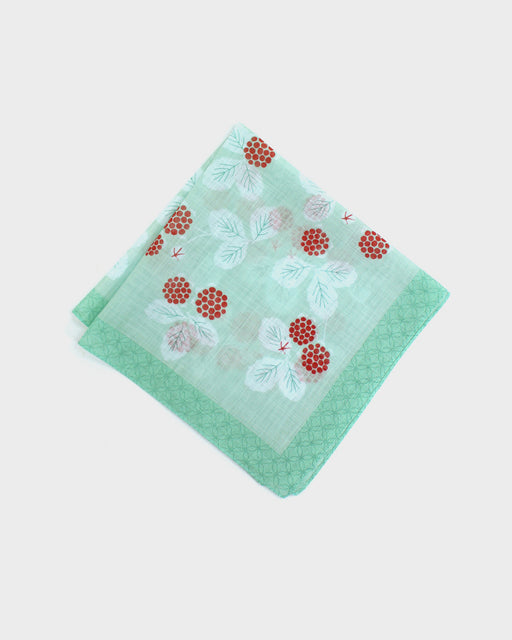 Japanese Handkerchief, Wild Strawberry