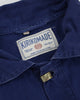 One of a Kind Boro Patched Vintage French Workman Jacket 04