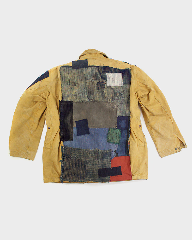 One of a Kind Boro Patched Vintage Duxbak Jacket (M/L)
