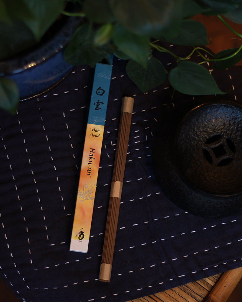 Shoyeido Natural Incense, Hakuun (White Cloud)