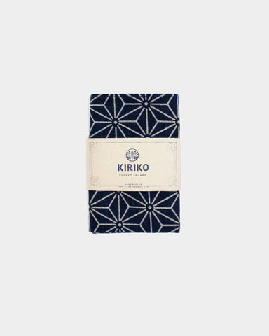 Pocket Square Indigo Asanoha