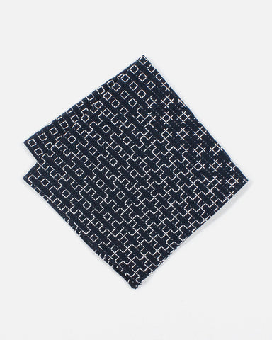 Pocket Square Sashiko