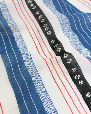 Japanese Handkerchief, Showa Blue
