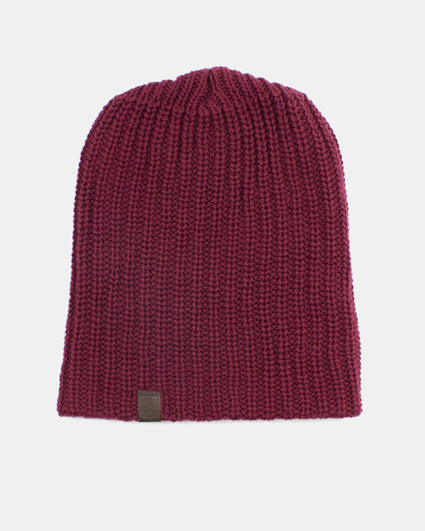 Knit Cap Burgundy