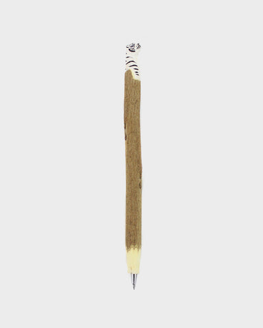 Wooden White Tiger Pen