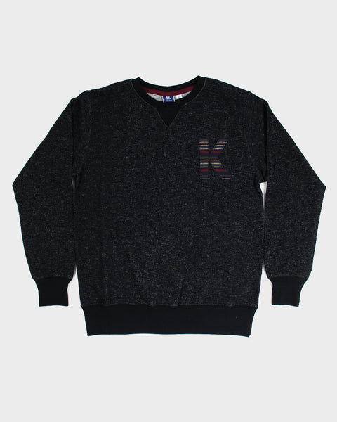 Patched Black 'K' Sweatshirt