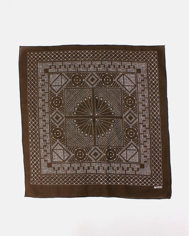 Bandana Katazome Brown
