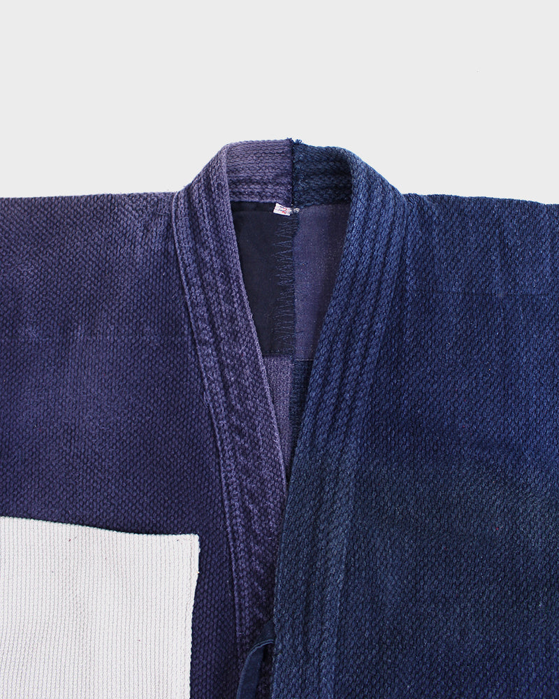 Vintage Altered and Patched Kendo Jacket, Hirayama