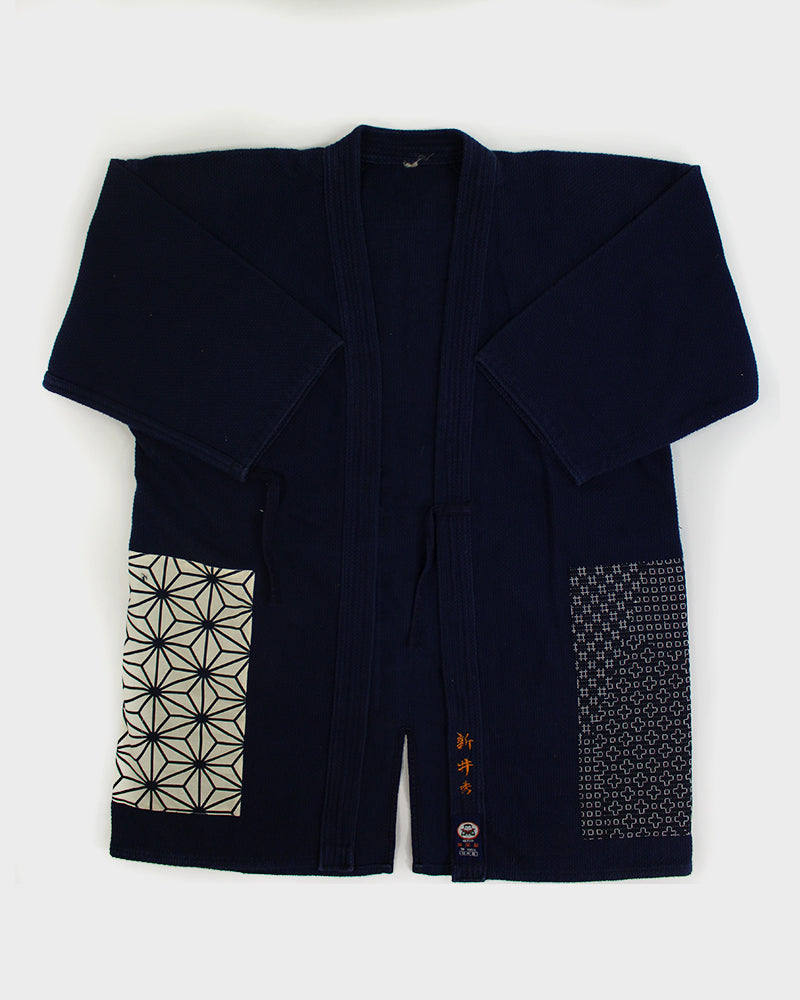 One-of-a-Kind Patched Kendo Jacket, 10 (S)