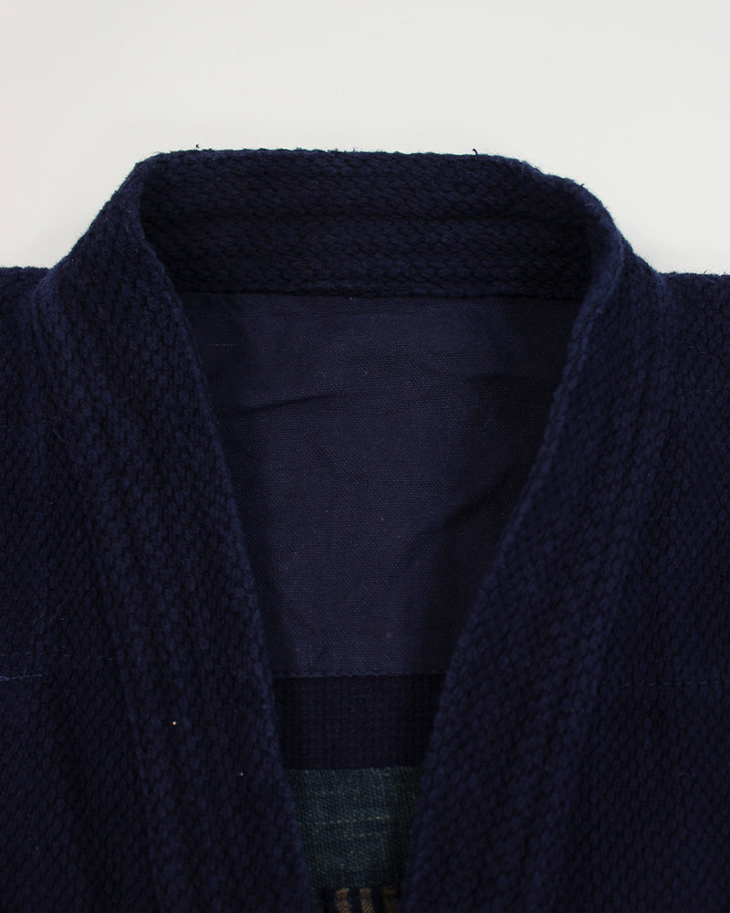 Reversible Patched Kendo Jacket with Sashiko, 17 (M)