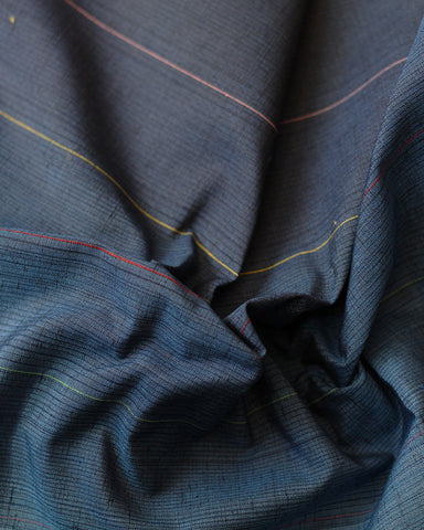 Vintage Fabric Navy Gradient