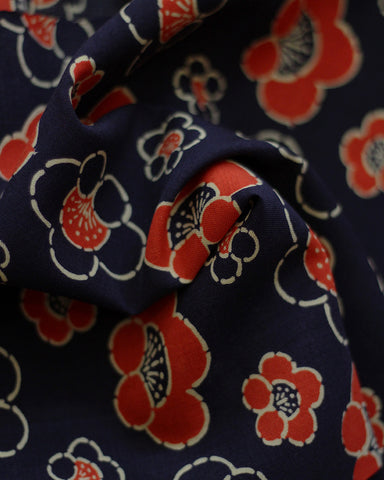 Vintage Fabric Floral