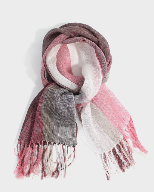 Kobo Oriza Stole Shawl, Red