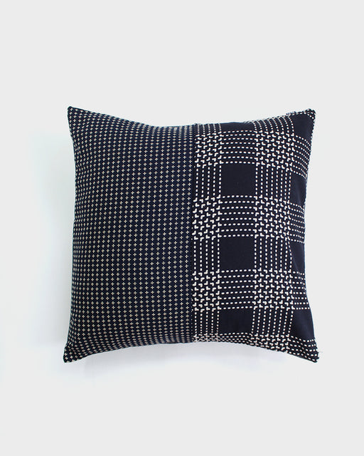 Split Pillow, Indigo, Shasiko Jyuji