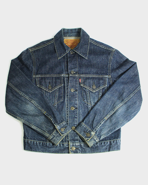 "Japanese Reproduction, Leviʻs ""Big E"" (Third Edition) Denim Jacket (Dark Wash)"