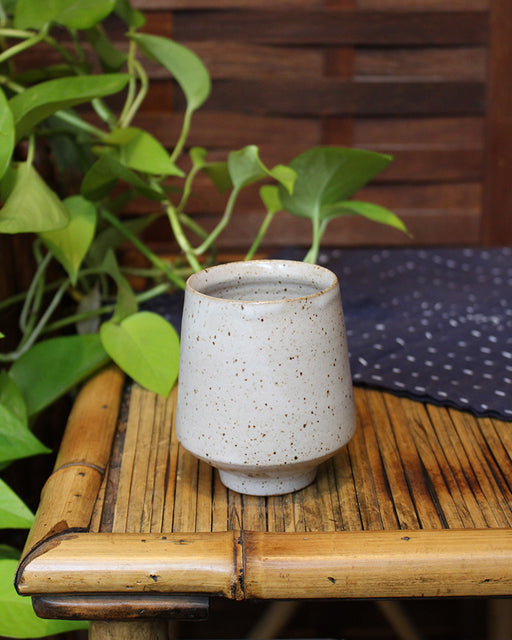 Kelly Pottery, Oatmeal Yunomi Cup, Matte