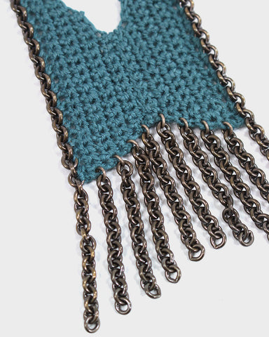 Boet Necklace, Mini Fringe Ocean Linen