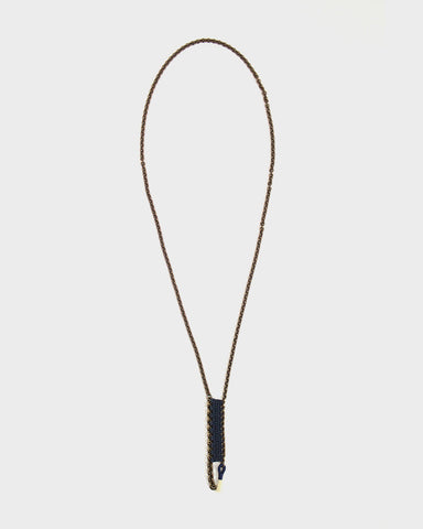 Boet Necklace, Pome Indigo