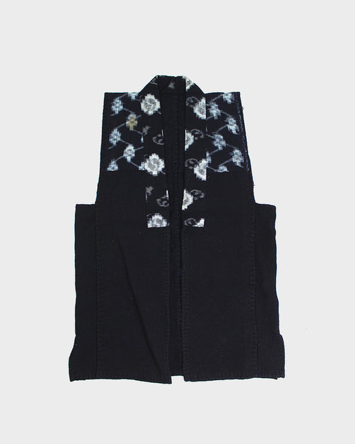 Vintage Vest, Dark Indigo and Kasuri