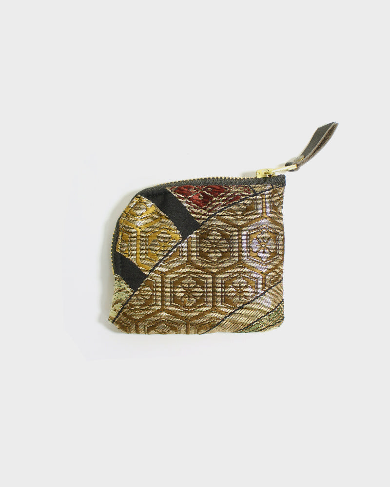 Zipper Wallet, Obi Multi Color Hanabishi Kikko