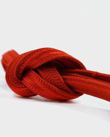 Vintage Obijime Belt, Red Orange