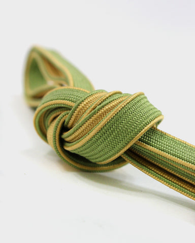Vintage Obijime Belt, Green and Orange