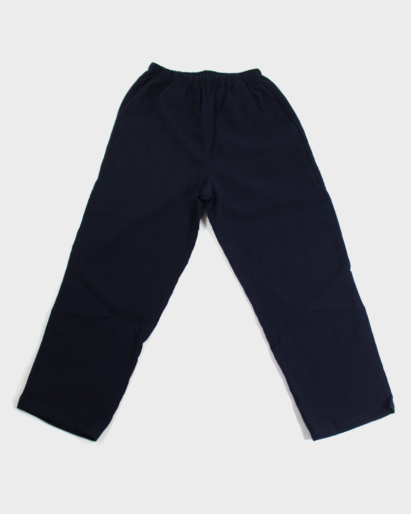 Shijira Pants, Indigo, Front Pocket