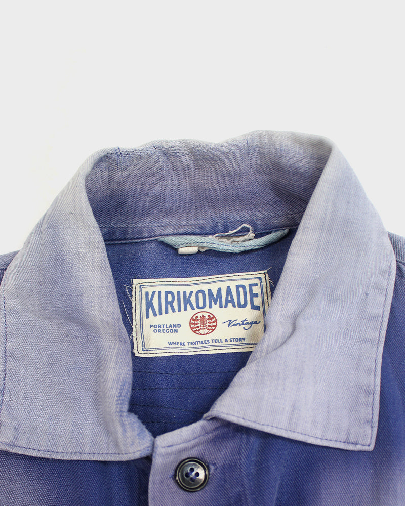 Boro Patched Vintage French Workman Jacket 20
