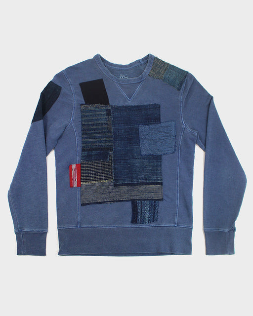 One of a Kind Patchwork Sweatshirt (S)
