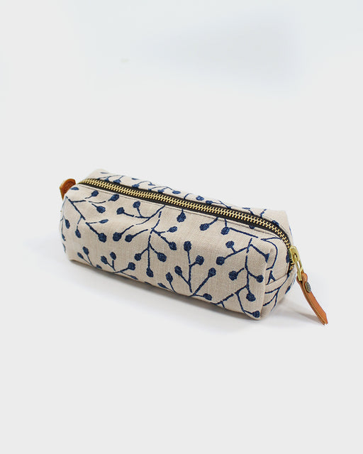 Pencil Pouch, Cream Bud