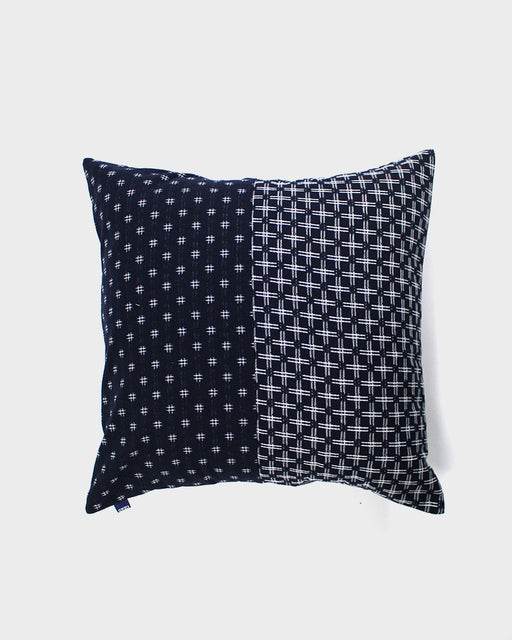 Pillow Split Indigo and White Igeta