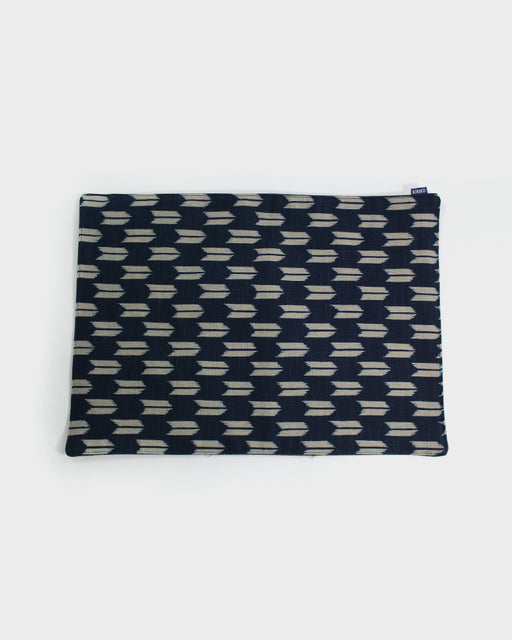 Table Mat, Indigo Yagasuri